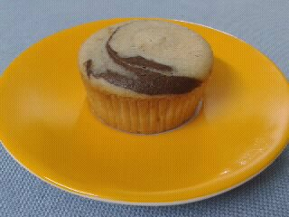 Whole Wheat Marble Muffin
